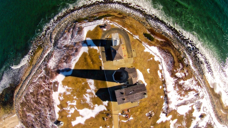 A Bird's-Eye View Of The Lighthouse