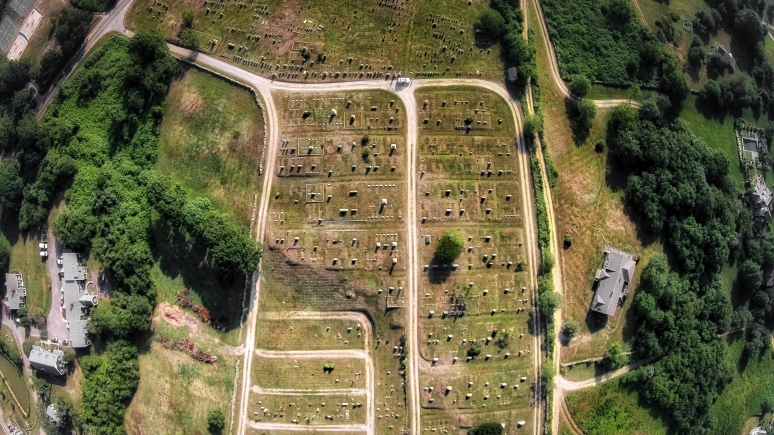 A Bird's-Eye: BI Cemetery