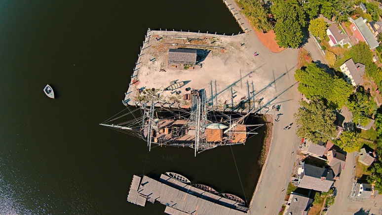 A Bird's-Eye View Of The Charles W Morgan