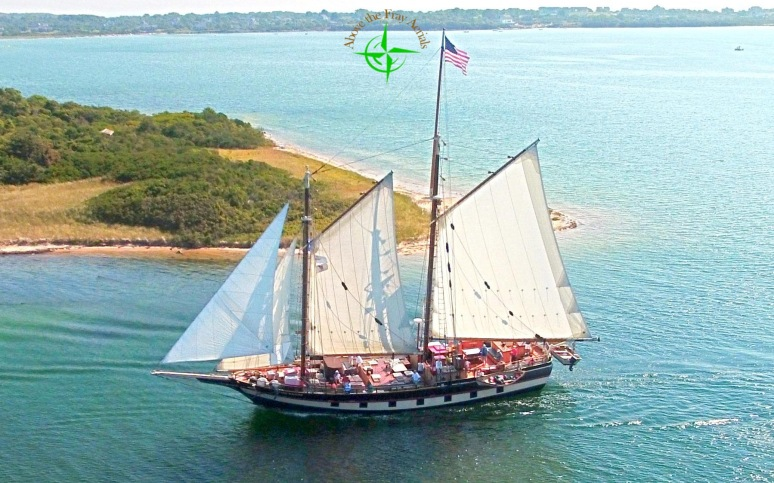 Mystic Whaler Leaves Great Salt Pond