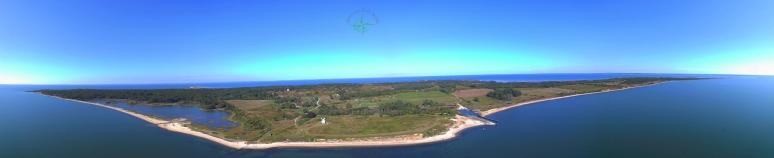Gardiner's Island Panoramic