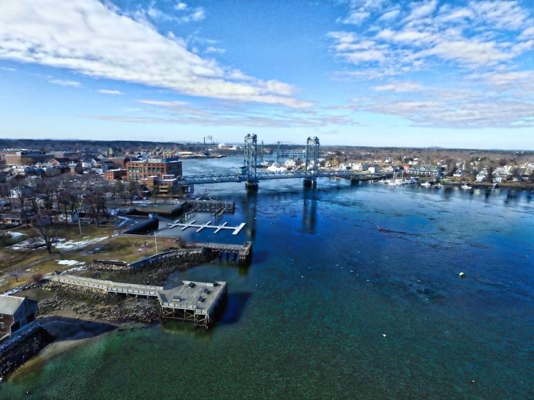 Memorial Bridge US-1 Portsmouth To Kittery
