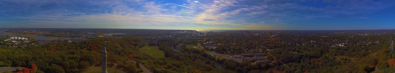 A Panorama Of New Haven Connecticut
