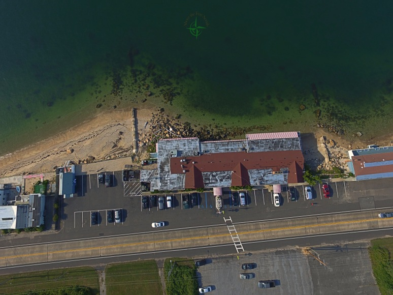 A Bird's-Eye View Of Soundview Restaurant In Greenport , NY