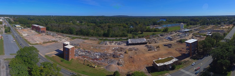 West Point Mills Demolition Panoramic