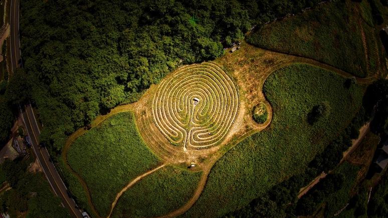 A Bird's-Eye: The Labyrinth - Block Island , RI