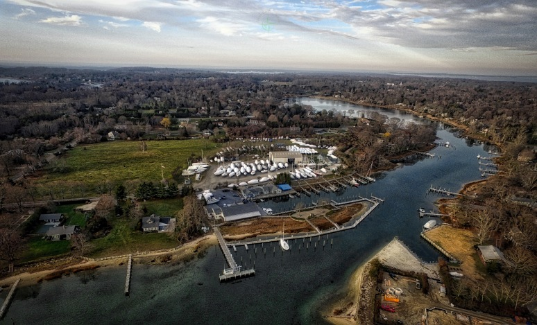 Island Boatyard - West Neck Creek - Shelter Island , NY