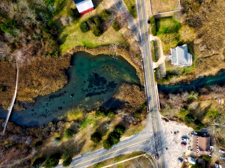 Bird's-Eye View Of Pussy's Pond