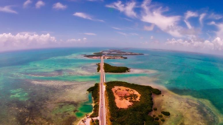South Towards Key West