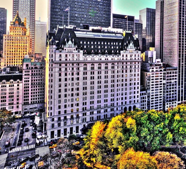 The Plaza Hotel , Central Park South , Manhattan