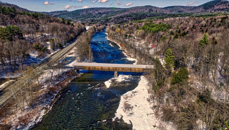 Vermont's Longest Covered Bridge - West Dummerston