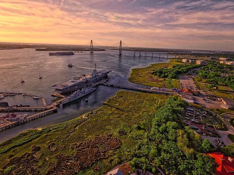 USS Yorktown - Patriot's Point , SC