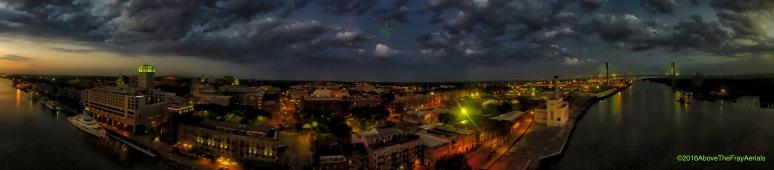 Pre-Dawn Savannah