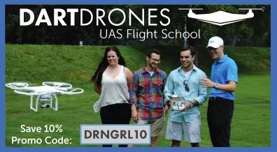 DARTdrone school