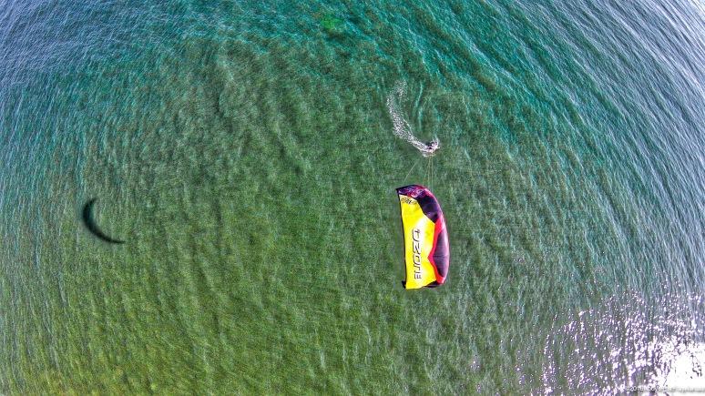 Kite-Foiling At Main Beach - East Hampton , NY