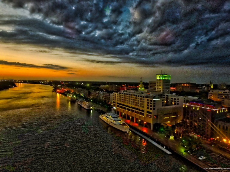 Savannah Riverfront Dawn