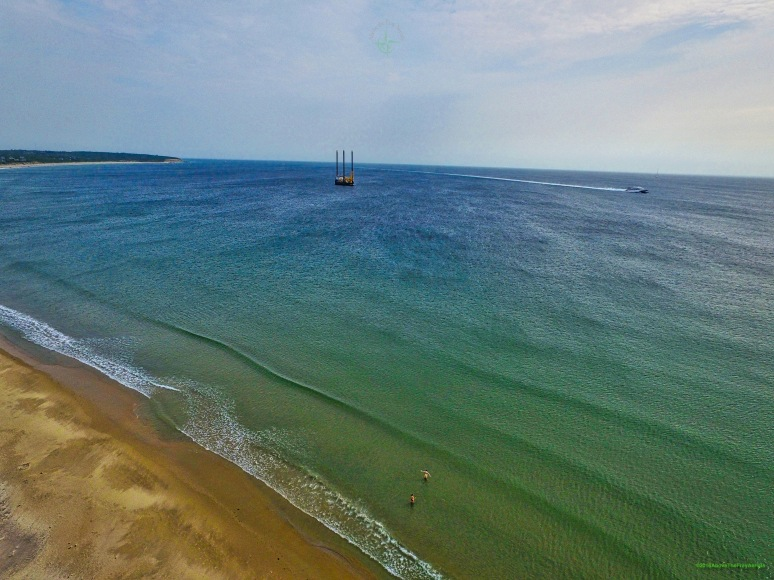 Offshore Construction Jack Up , Michael Eymard , Off State Beach