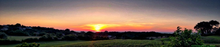 A Panorama: West Side Sunset