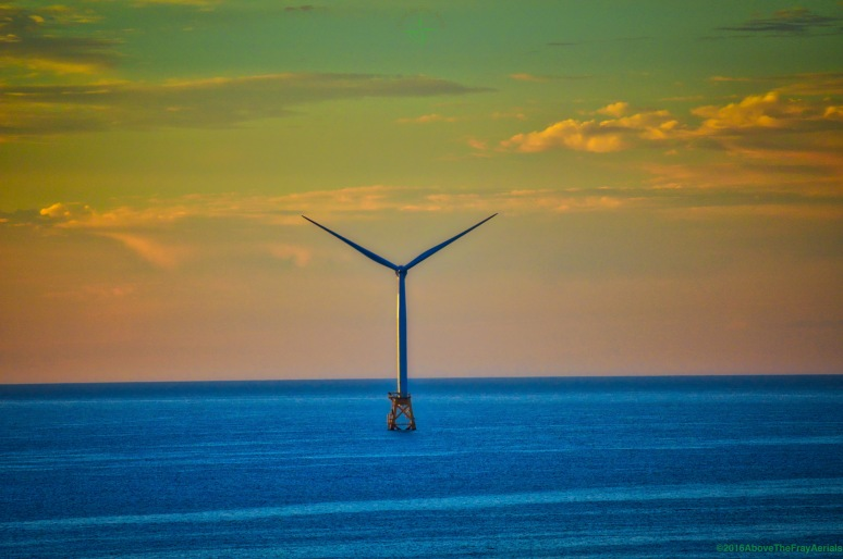 Wind Power Sunrise