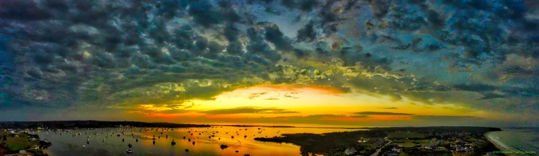 A Panorama: September's 1st Sunset