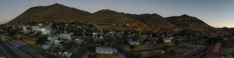 A Panorama: Virginia City Dawn