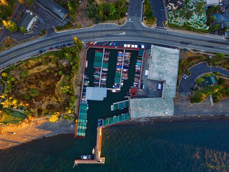 A Bird's-Eye: Sierra Boat Company - Carnelian Bay , Lake Tahoe , CA