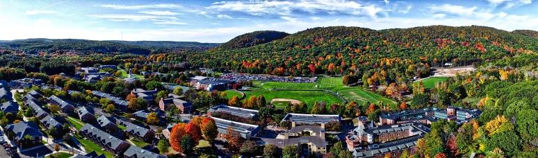 A Panorama: Mt Carmel Campus , Quinnipiac University