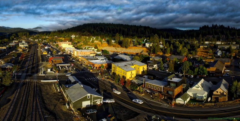 Downtown Truckee , California