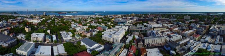 A Panorama: Charleston , SC