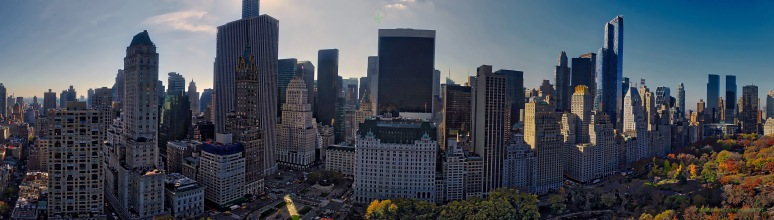 A Panorama: Central Park South