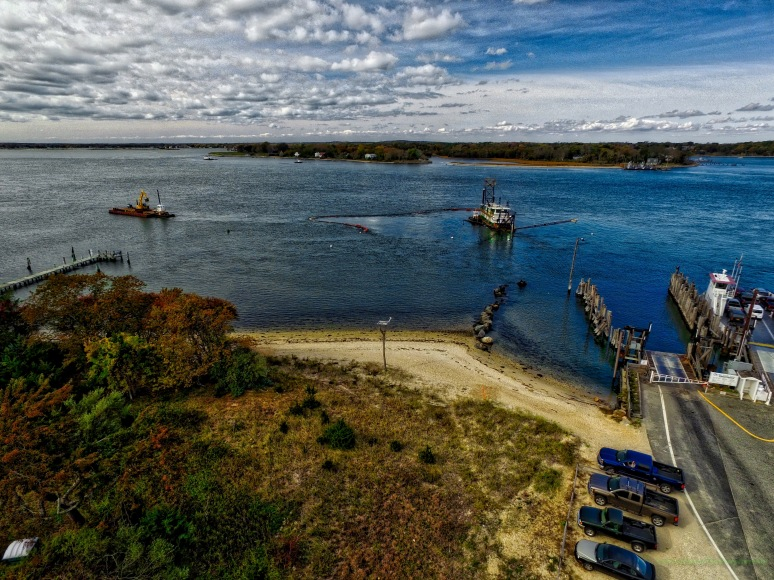 South Ferry Dredging - North Haven , Long Island
