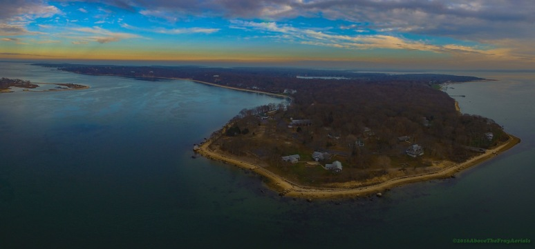 A Panorama: Jennings Point - Shelter Island , NY