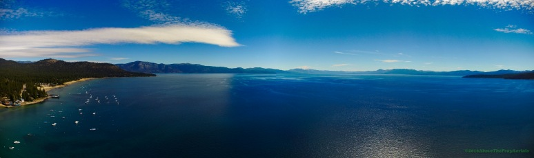 A Panorama: North Lake Tahoe