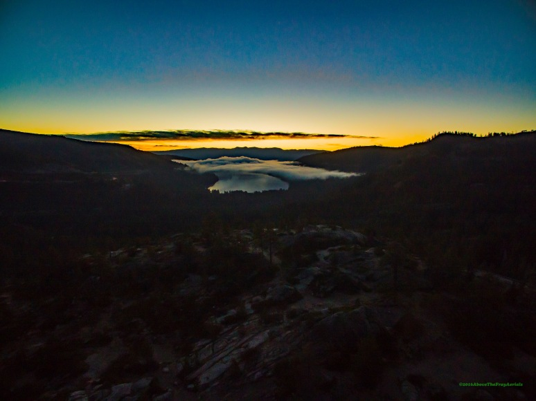 Dawn Over Donner Lake