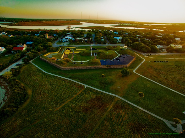 Break Of Dawn: Ft Moultrie , Sullivan's Island , SC