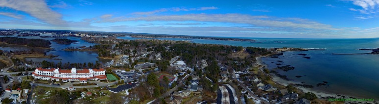 A Panorama: New Castle , NH