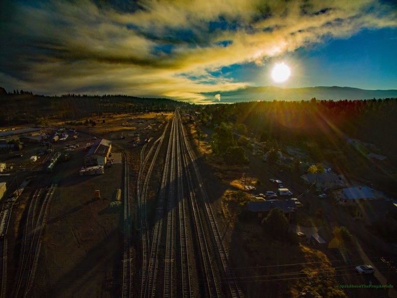 Dawn Over Truckee Railyard