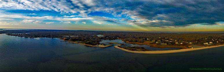 A Panorama: West Neck - Shelter Island , NY