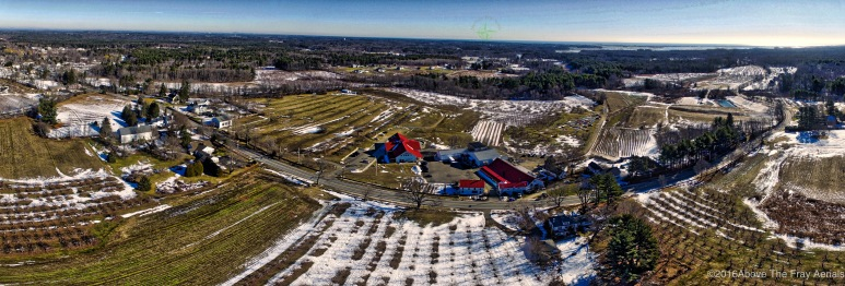 A Panorama: Applecrest Farms - Hampton Falls , NH